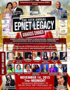 2015 EPNET LEGACY AWARDEE